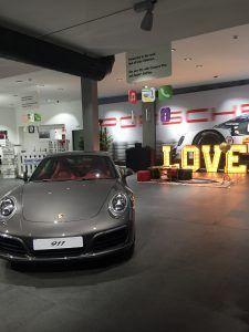 BCN LETTERS loves Porsche