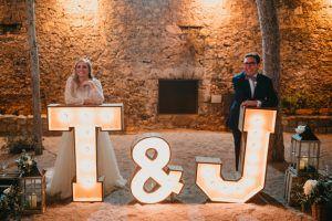 Letras de alquiler BCN LETTERS en Castell de Tamarit
