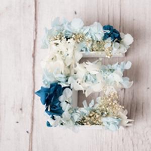 Letras con flores para bodas BCN LETTERS