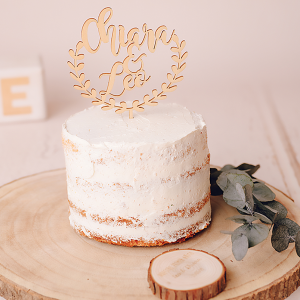 Cake topper personalizado pastel cumpleaños o boda - BCN LETTERS