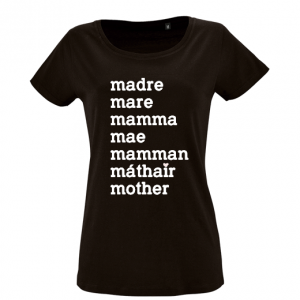 Camiseta mama - Languages TWINS by BCN LETTERS