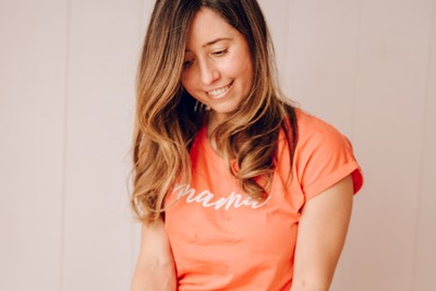 Camiseta mama - Ropa personalizada TWINS BY BCN LETTERS