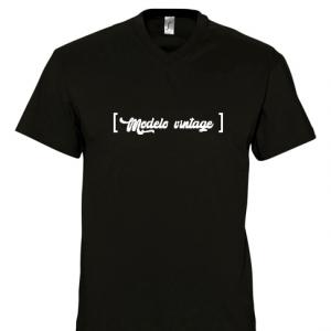 Camiseta papá personalizada - Modelo vintage