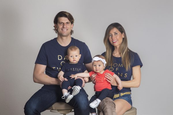 Pack Camisetas Twins Family - TWINS by BCN LETTERS
