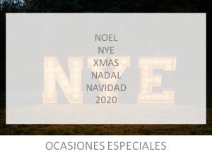 Letras luminosas para cenas de navidad de alquiler en Barcelona