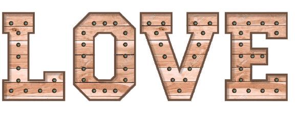 letras luminosas de madera para bodas y eventos