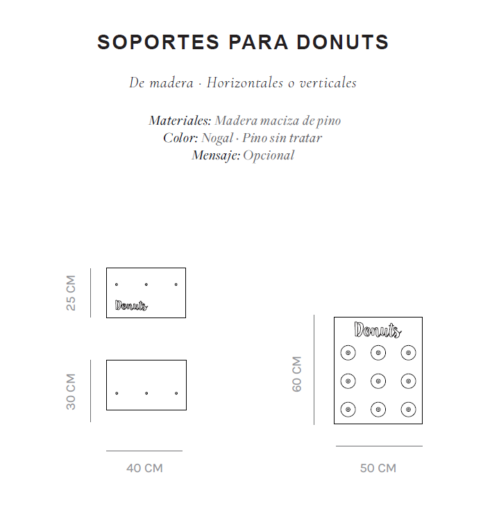 Donuts Bar de alquiler para bodas y eventos