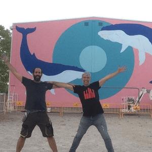 Murals Festival MonarT de Girona i BCN LETTERS