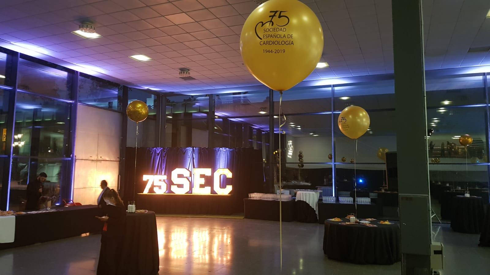 75 aniversario SEC en la Fira de Montjuic
