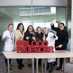 Letras luminosas para la Marató de donants de Sang de Catalunya - BARCELONA
