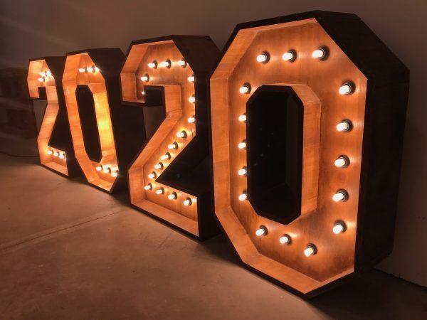 números luminosos de alquiler Barcelona 2020