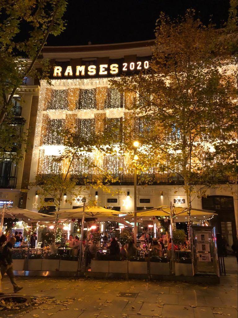 Letras luminosas gigantes para Ramses ARZAK en Madrid - BCN LETTERS