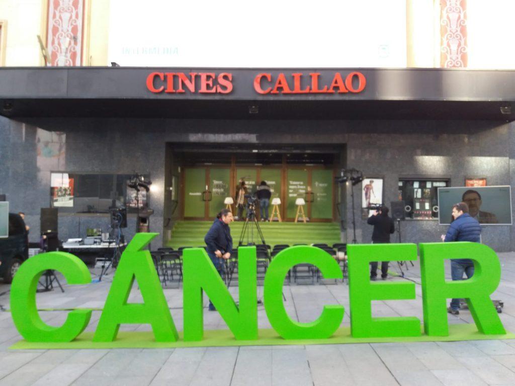 Letras gigantes Cancer - AECC MADRID BCN LETTERS