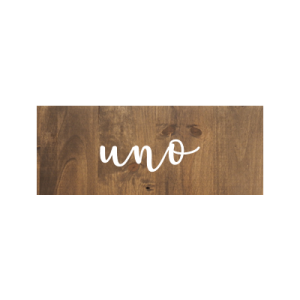 Mesero seating plan Boda de madera personalizado - BCN LETTERS