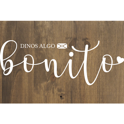 Cartel de madera LIBRO DE FIRMAS para Bodas y Eventos Barcelona - BCN LETTERS