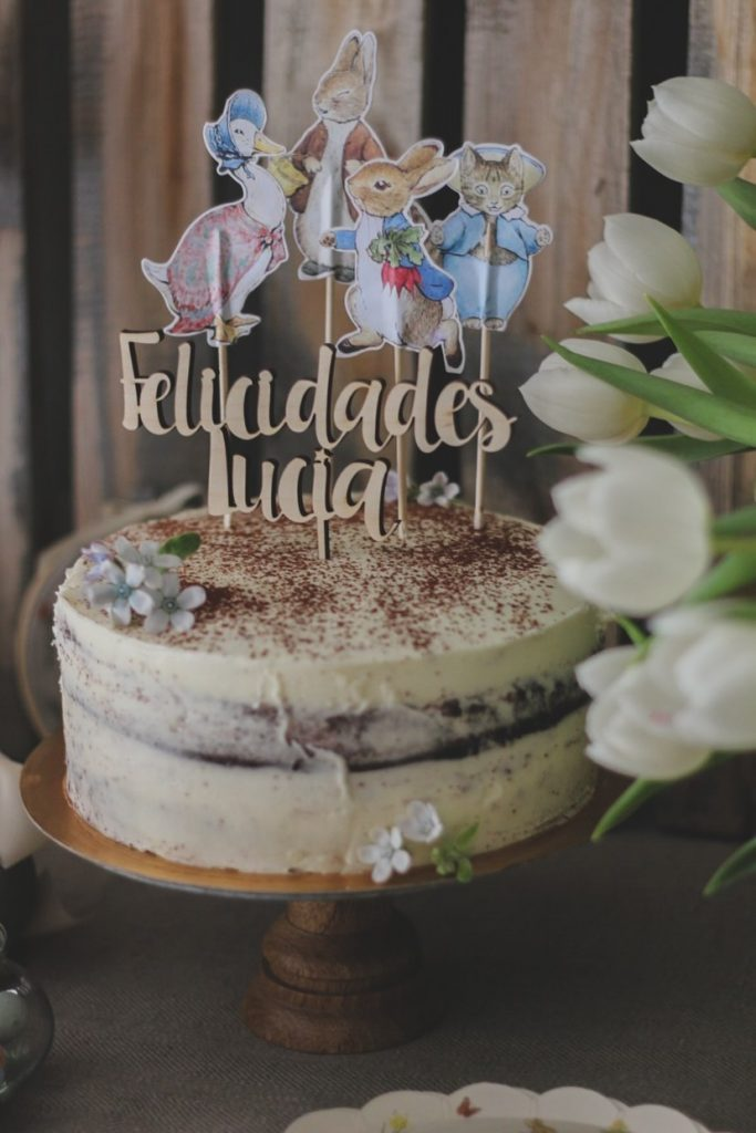 Cake topper fusta casament aniversari primera comunió Barcelona
