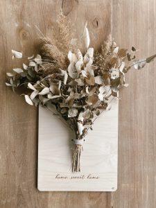 Cartel ramo novia damas honor madres boda - BCN LETTERS
