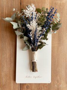 Cartel ramo novia damas honor madres boda - BCN LETTERS Barcelona